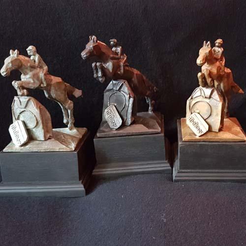 Bronze Pferde